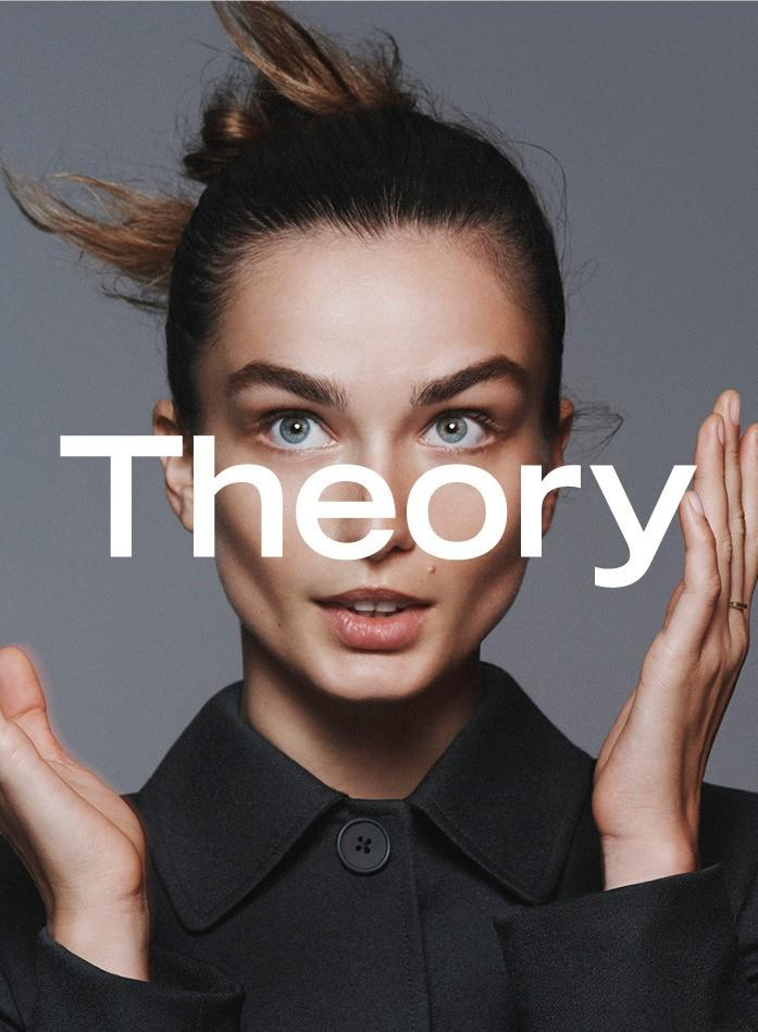 Andreea Diaconu, Hana Jirickova By David Sims For Theory Spring-Summer 2016 Ad Campaign (1)