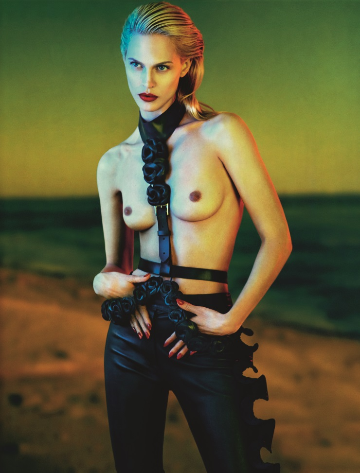 Aymeline Valade by Txema Yeste for Numero Magazine May 2014 (1)