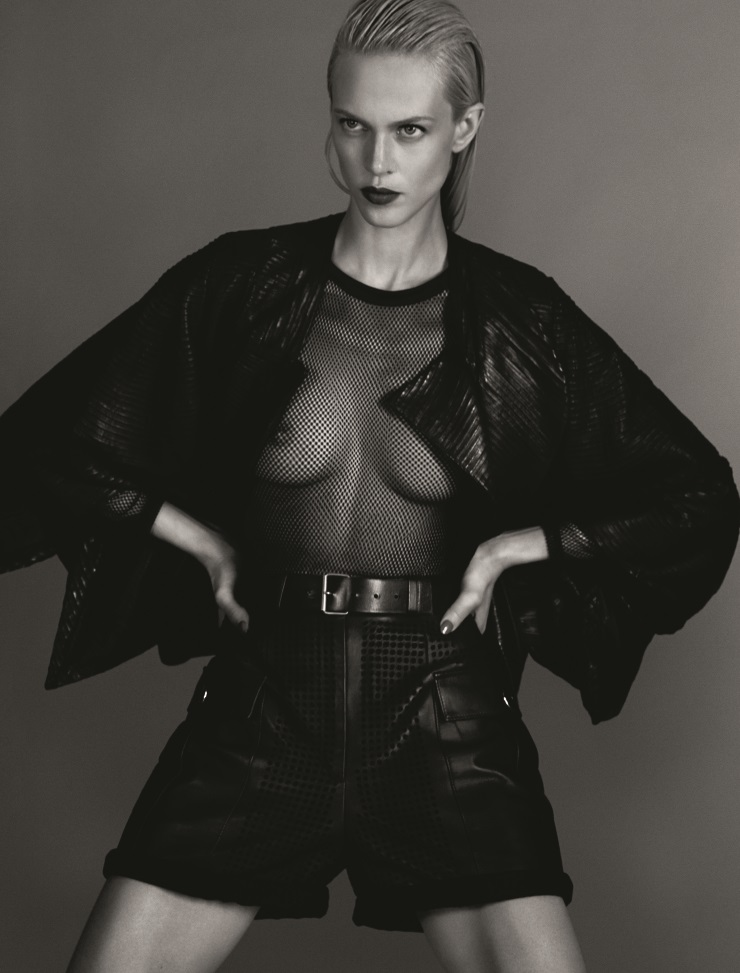 Aymeline Valade by Txema Yeste for Numero Magazine May 2014 (6)