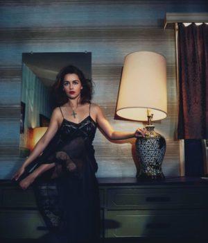 Emilia Clarke by Emma Summerton for Vogue Australia May 2016