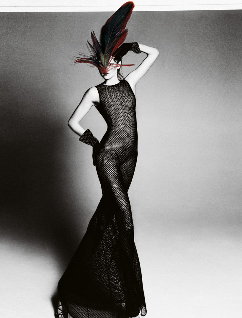 Gwen Loose by Txema Yeste For Virgine Magazine Spring-Summer 2011 Azzedine Alaia (5)