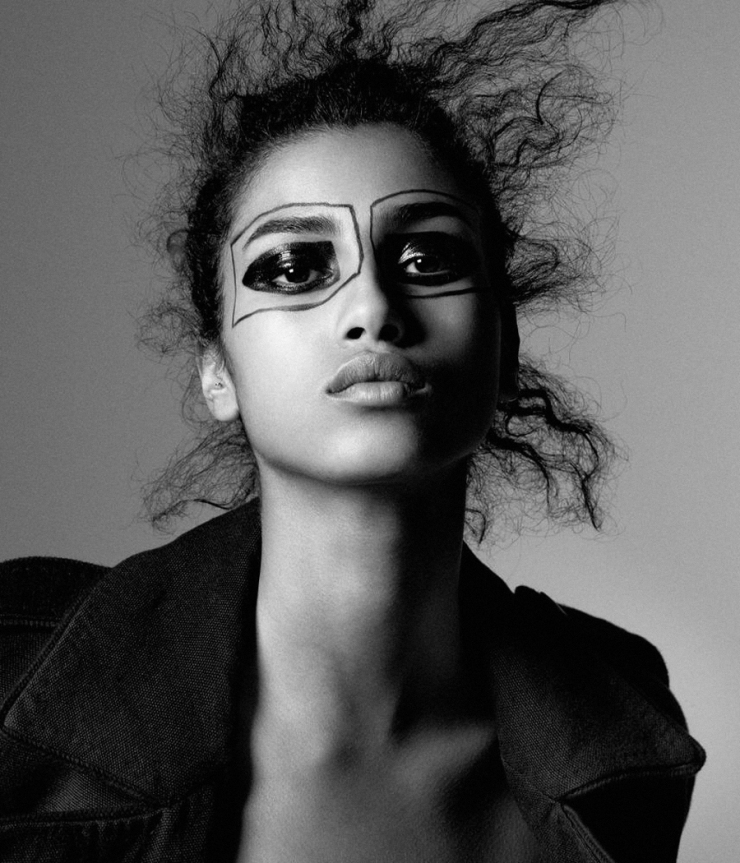 Imaan Hammam by Daniel Jackson for WSJ Magazine April 2016