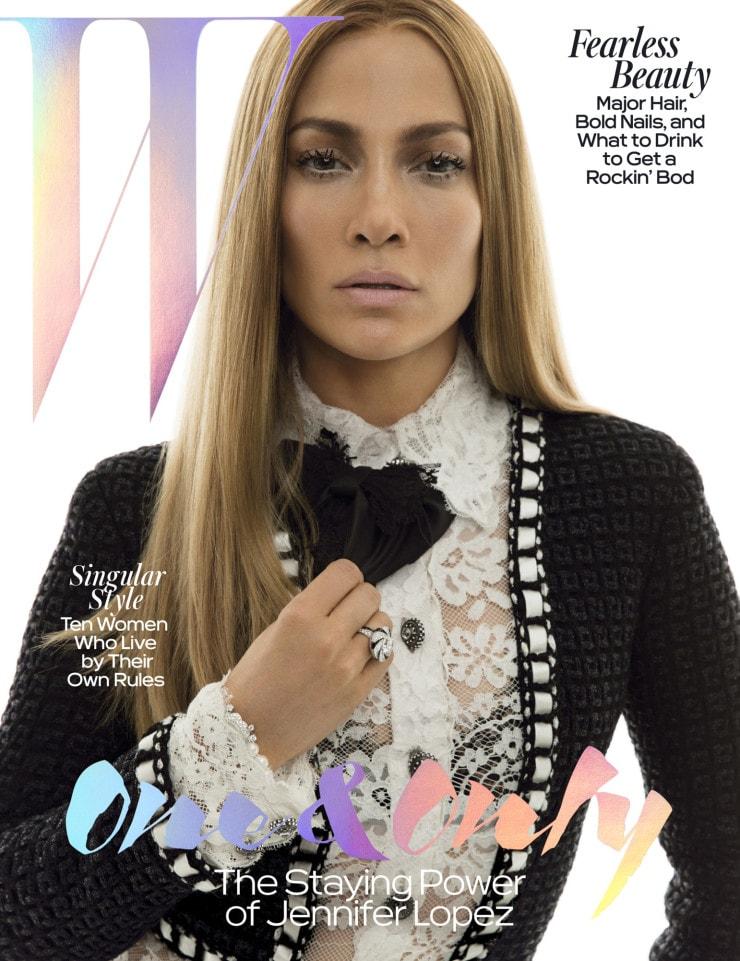 Jennifer Lopez By Inez & Vinoodh For W Magazine May 2016 (8)