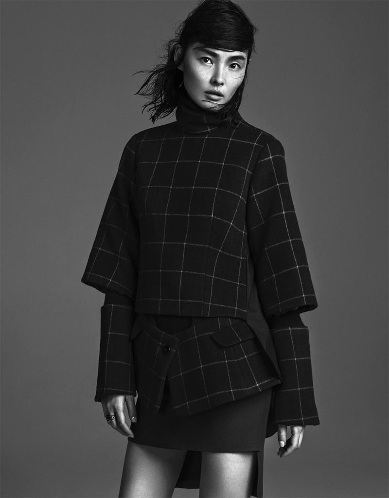 Liu Li Jun & Miao Bin Si By Trunk Xu For Elle China January 2014 (5)