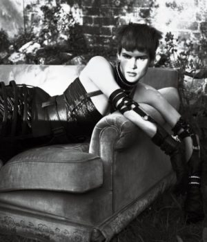 Strict By Mert Alas & Marcus Piggott for Interview Magazine September 2011