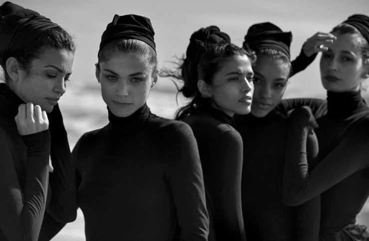 Vogue Italia April 2016 Unique Beauties By Peter Lindbergh (1)