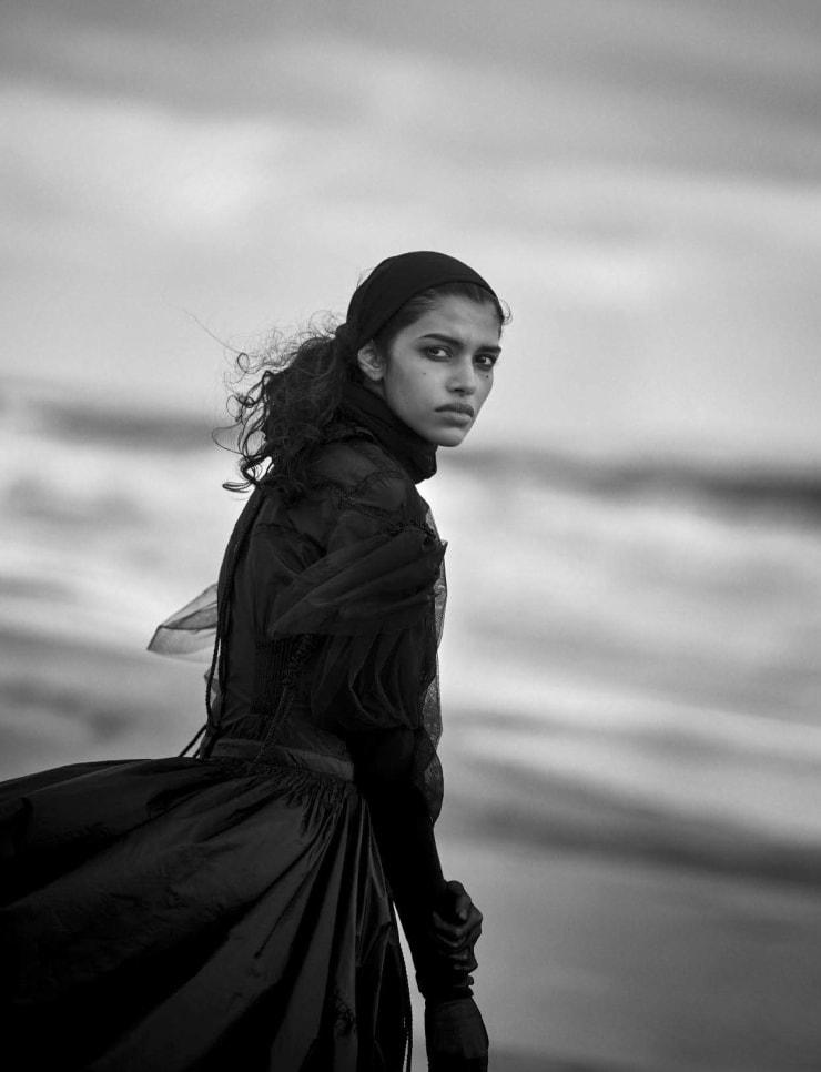 Vogue Italia April 2016 Unique Beauties By Peter Lindbergh (10)