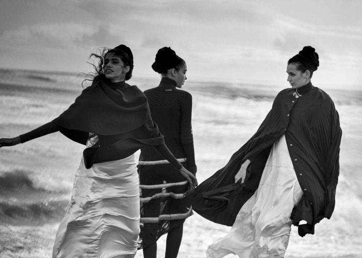 Vogue Italia April 2016 Unique Beauties By Peter Lindbergh (13)