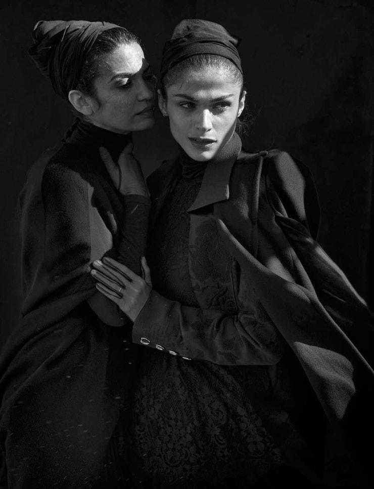 Vogue Italia April 2016 Unique Beauties By Peter Lindbergh (15)