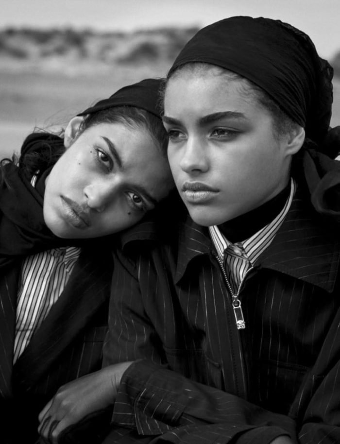 Vogue Italia April 2016 Unique Beauties By Peter Lindbergh (3)