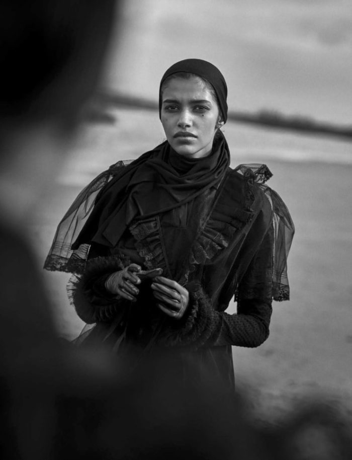 Vogue Italia April 2016 Unique Beauties By Peter Lindbergh (5)