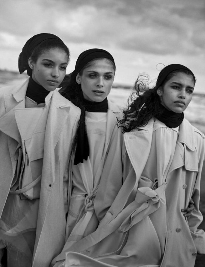 Vogue Italia April 2016 Unique Beauties By Peter Lindbergh (6)
