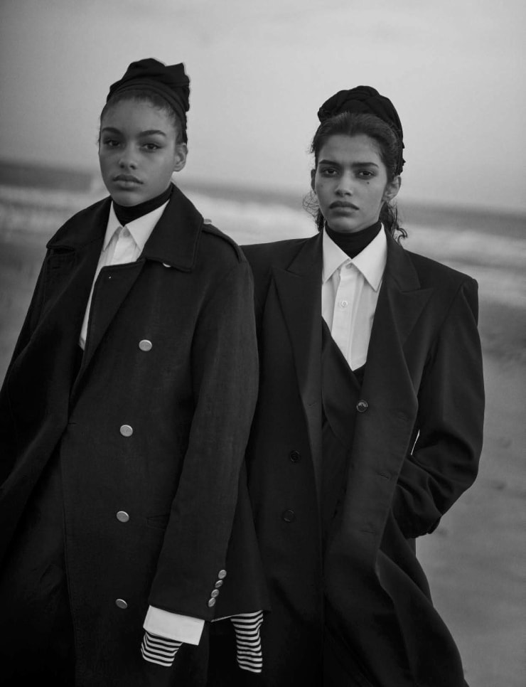 Vogue Italia April 2016 Unique Beauties By Peter Lindbergh (9)