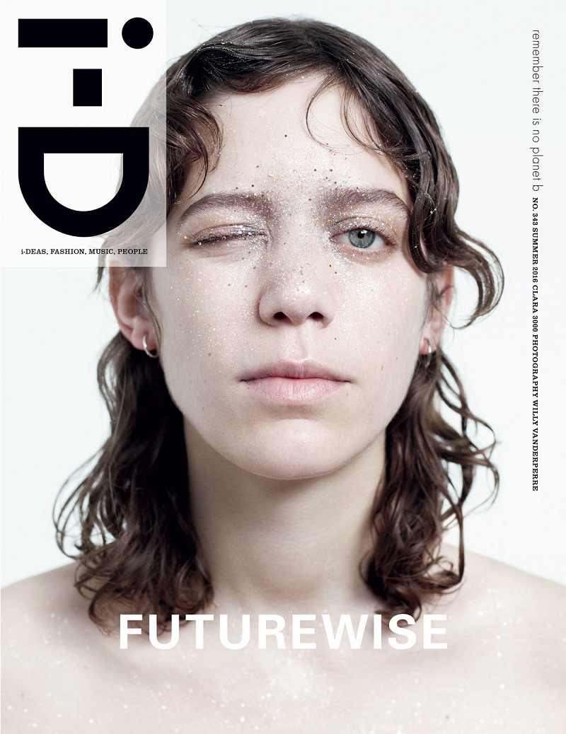 Clara Deshayes By Willy Vandeperre For i-D Magazine Summer 2016 Cover - Futurewise Issue