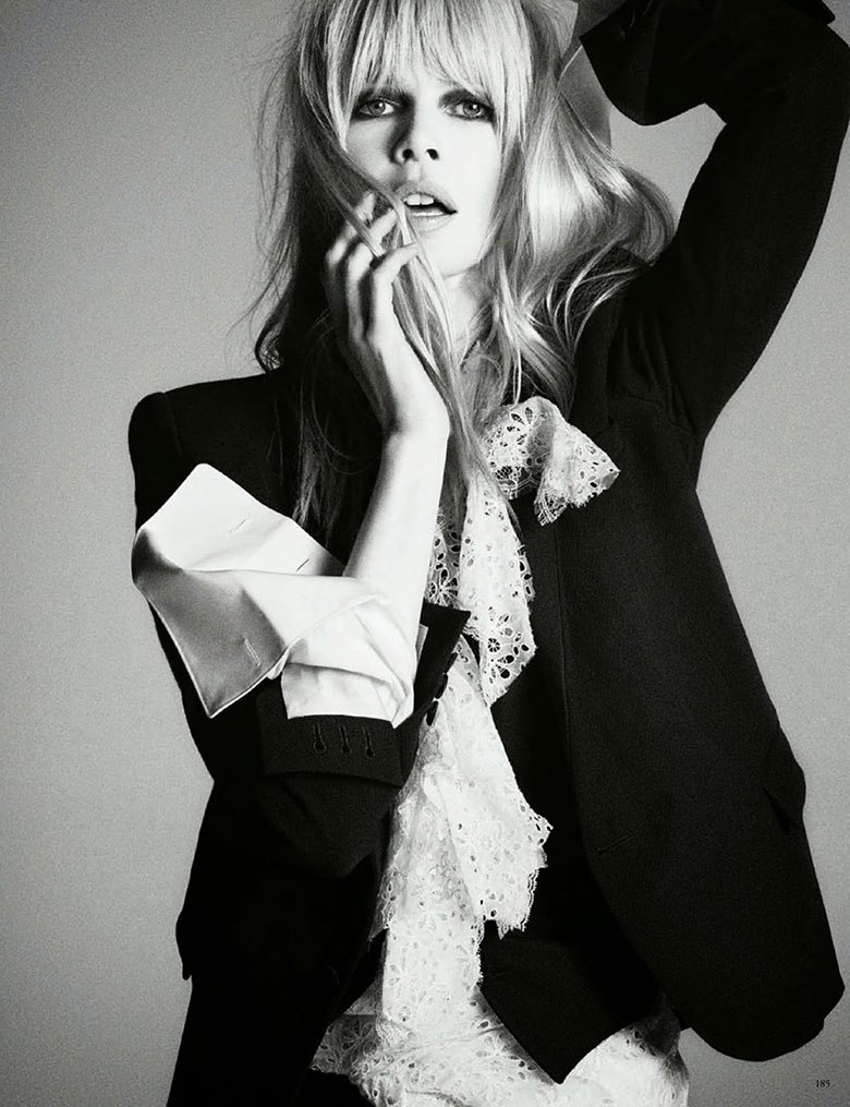 Claudia Schiffer By Luigi Murenu & Iango Henzi For Vogue Germany April 2014 (3)