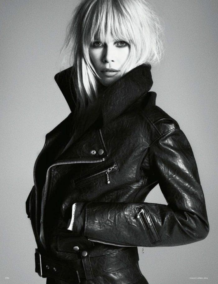 Claudia Schiffer By Luigi Murenu & Iango Henzi For Vogue Germany April 2014 (6)