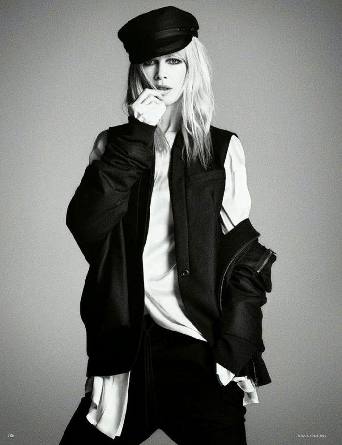Claudia Schiffer By Luigi Murenu & Iango Henzi For Vogue Germany April 2014 (7)