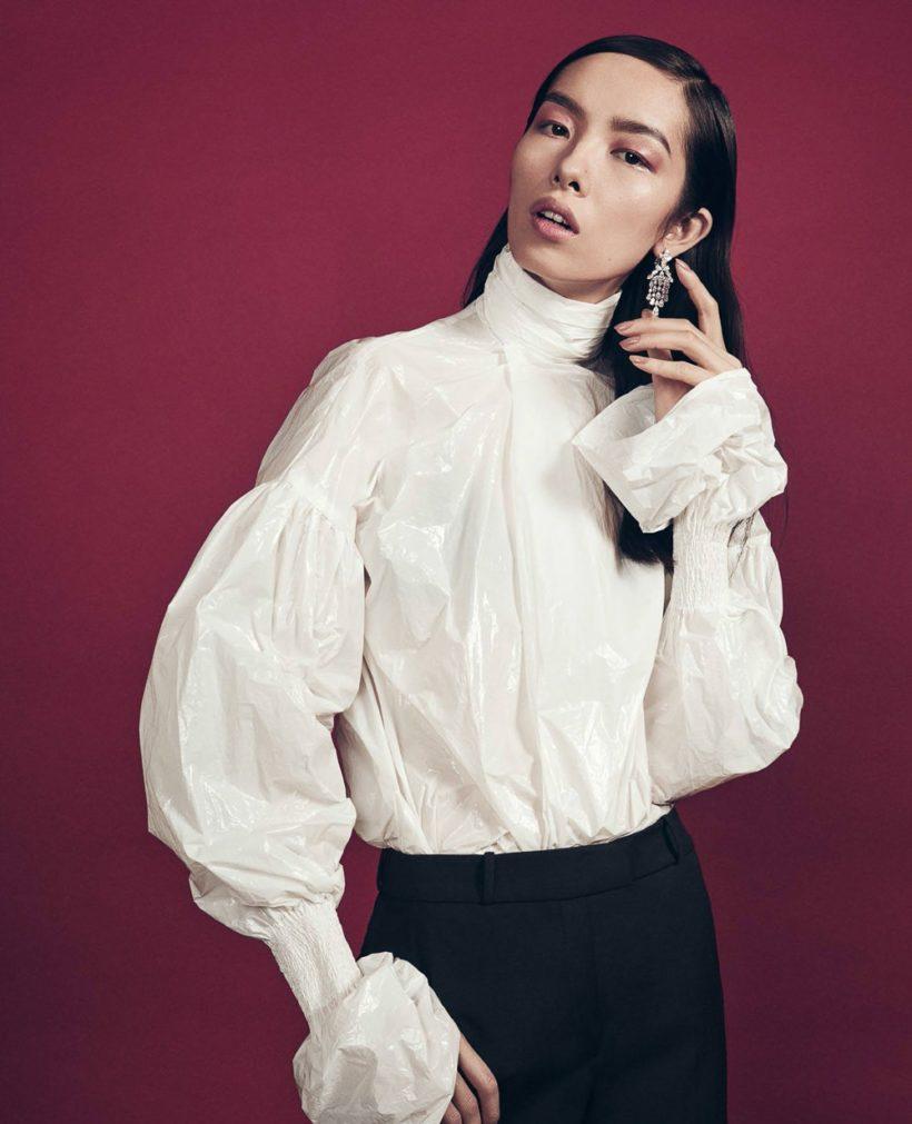 Fei Fei Sun by Sharif Hamza for Vogue China June 2016 (6)