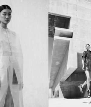 Xiaomeng Huang By Andoni & Arantxa For SI STYLE Magazine May 2016