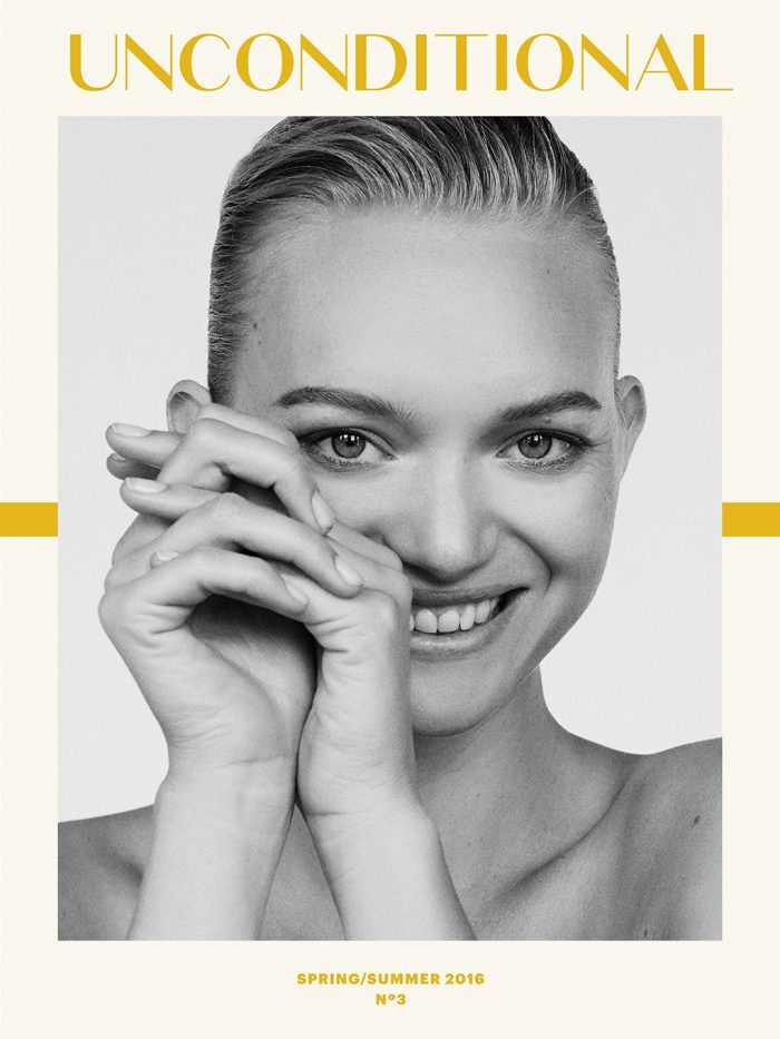 Gemma Ward Covers Unconditional Magazine Spring-Summer 2016