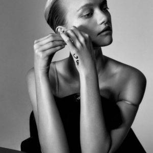 Gemma Ward By Darren McDonald For Inprint Magazine No.2