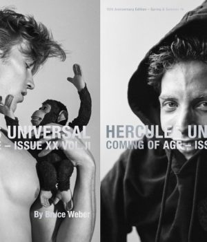 Hercules Magazine Spring-Summer 2016 Covers By Bruce Weber