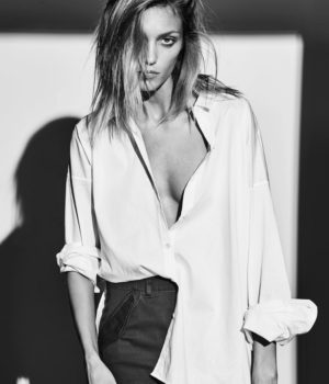 Anja Rubik By Chris Colls For The Edit Magazine June 2016