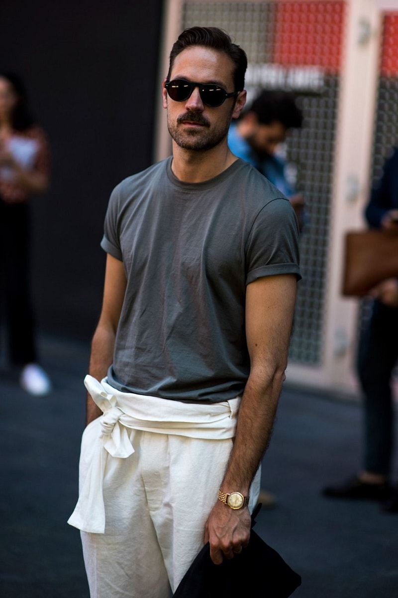 Milan Men S Fashion Week Spring 2017 Street Style 24 Minimal Visual