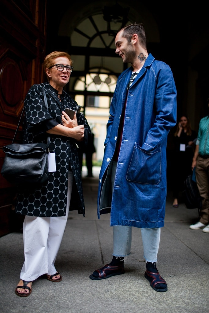 Milan Men S Fashion Week Spring 2017 Street Style 8 Minimal Visual