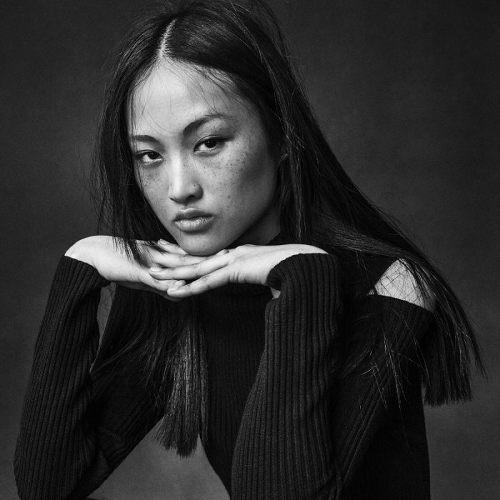 Jing Wen by Sebastian Kim for Models.com