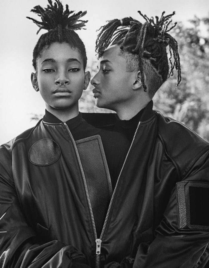 Jaden Smith & Willow Smith By Steven Klein For Interview Magazine September 2016 (1)