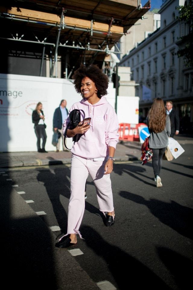 London Fashion Week Spring 2017 Street Style Lfw Ss 2017