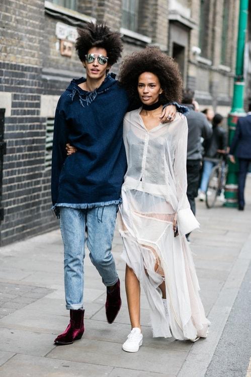 London Fashion Week Spring 2017 Street Style Lfw Ss 2017 7