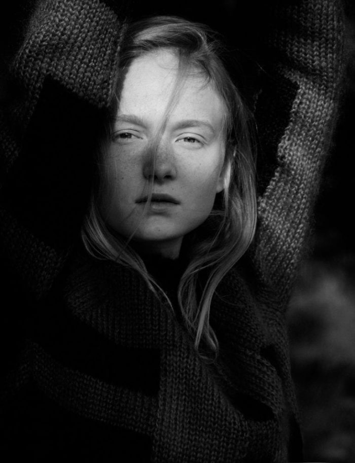 Maja Salamon by Tomas Falmer for Amica Magazine October 2016