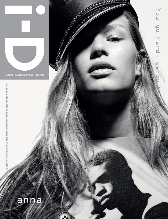 Anna Ewers Covers i-D Magazine Fall 2016