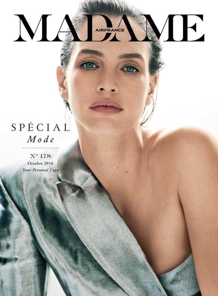 Crista Cober Covers Air France Madame October 2016