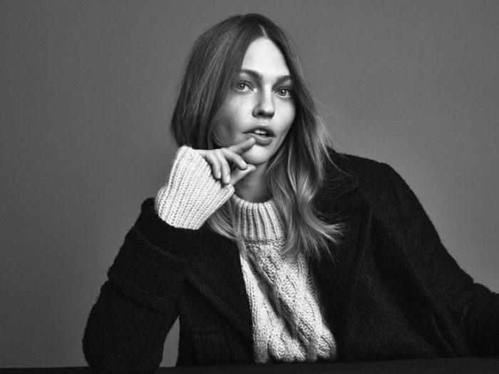 Sasha Pivovarova By Andreas Sjodin For H&M Fall-Winter 2016-2017 Ad Campaign