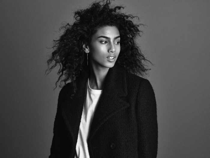 Imaan Hammam By Andreas Sjodin For H&M Fall-Winter 2016-2017 Ad Campaign