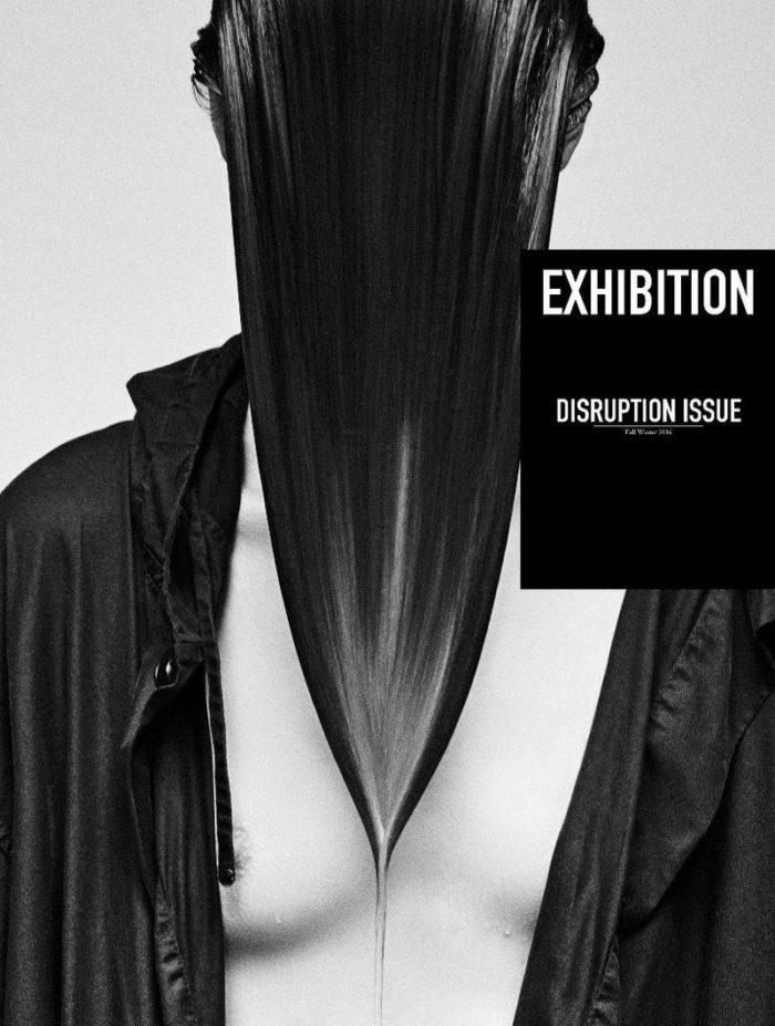 Odette Pavlova Covers Exhibition Magazine Fall-Winter 2016 Disruption Issue