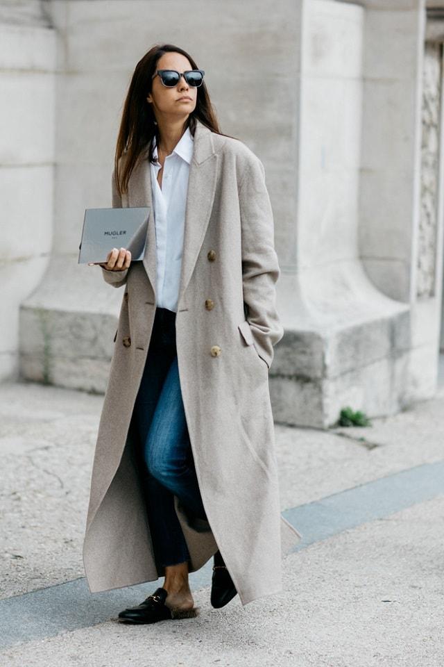 Paris Fashion Week Spring 2017 Street Style Pfw Ss17 48 Minimal Visual