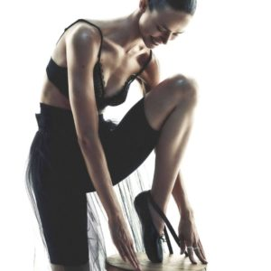 Lace Dance: Birgit Kos By Andreas Sjodin For Elle France