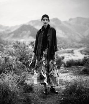 Kati Nescher by Boo George for Porter Magazine Winter Escape 2016