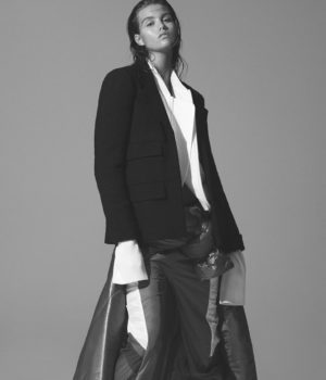 Luna Bijl By Daniel Jackson For Vogue China January 2017
