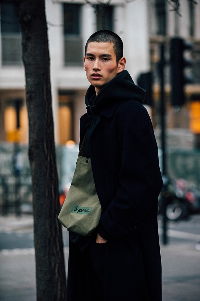 London Men S Fashion Week Fall 2017 Street Style Minimal Visual