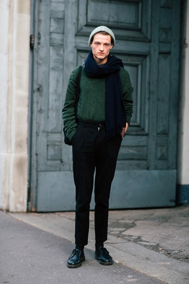 Milan Men's Fashion Week Fall 2017 Street Style - Minimal ...