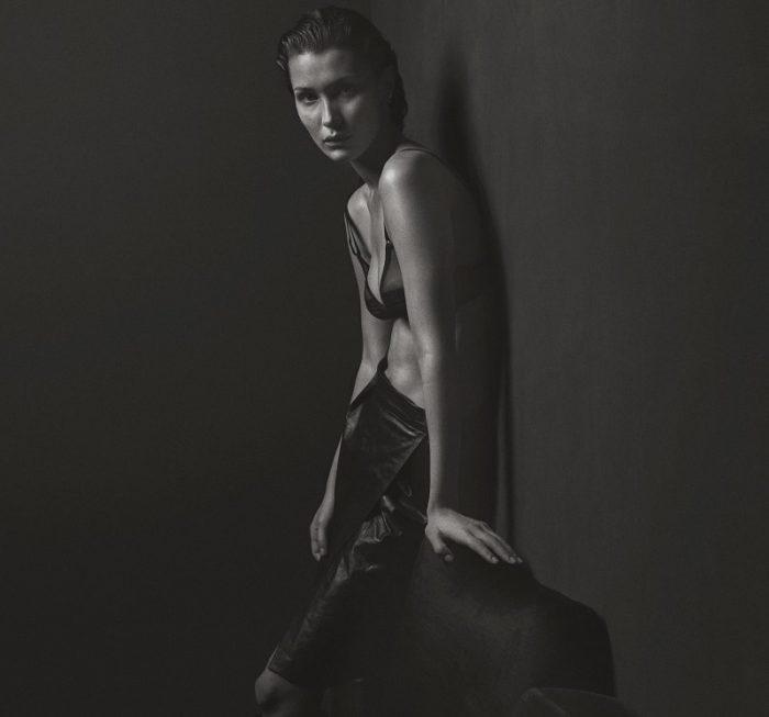 Bella Hadid By Mario Sorrenti For V Magazine Spring 2017