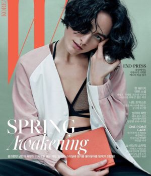 Heather Kemesky Covers W Korea February 2017