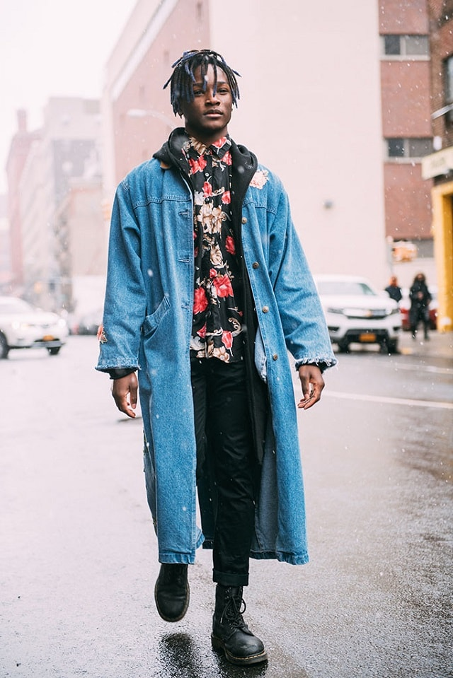 New York Men S Fashion Week Fall 2017 Street Style Minimal Visual