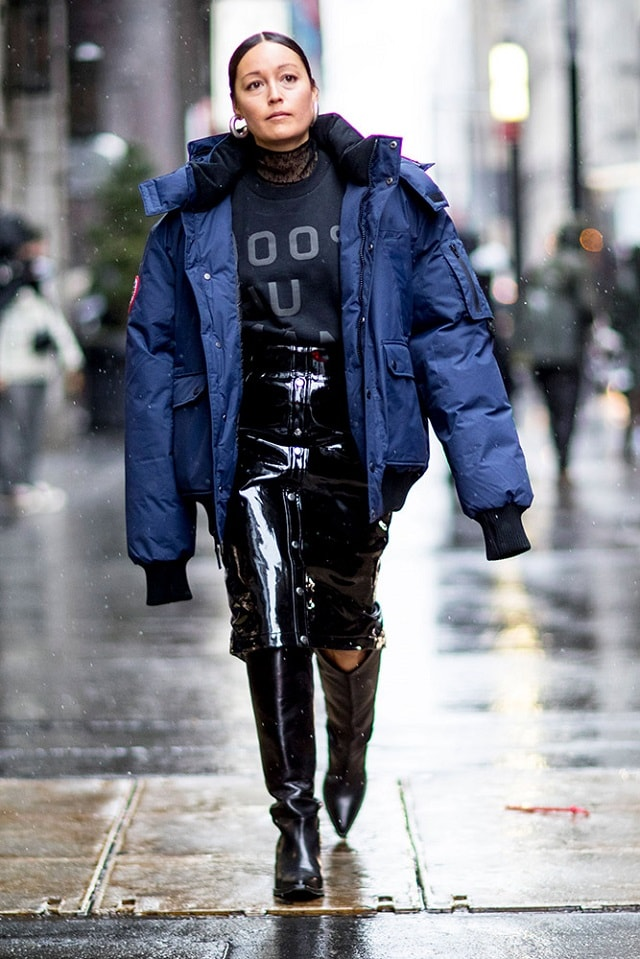 New York Fashion Week Fall 2017 Street Style Minimal