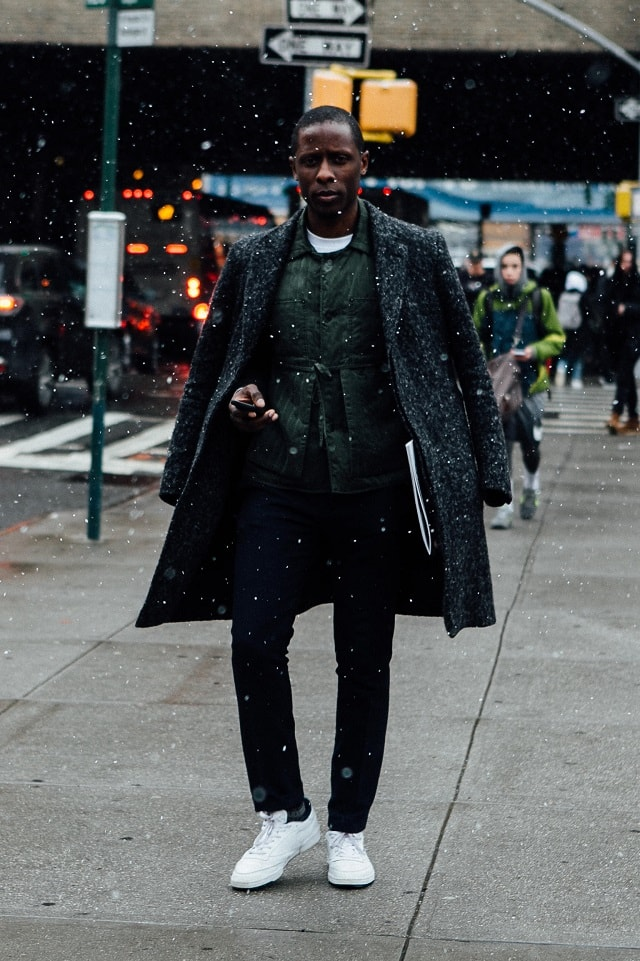 New York Men S Fashion Week Fall 2017 Street Style Minimal Visual